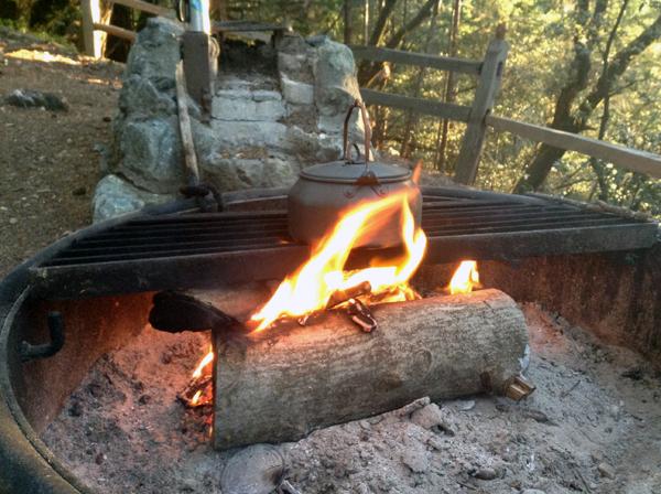 Campfire Fairies to heat my water